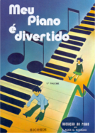 MEU PIANO É DIVERTIDO - 1º VOLUME